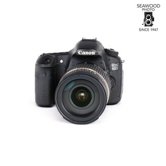 Canon Canon 60D 18mp w/Tamron 18-270mm Di-II GOOD+