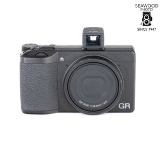 Ricoh Ricoh GR III 24MP with GV-2 Viewfinder GOOD