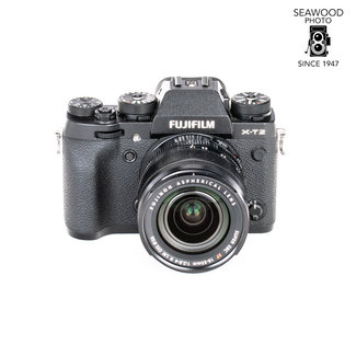 Fuji Fuji X-T2 24.3mp w/18-55mm Lens GOOD