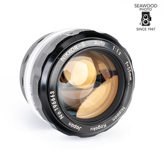 Nikon Nikon 55mm f/1.2 Non-AI Nikkor-S w/Shade GOOD+
