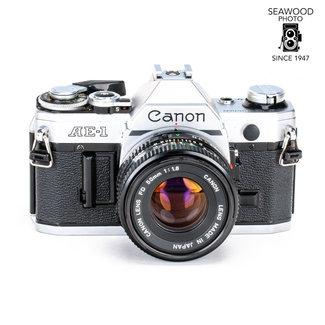 Canon Canon AE-1 w/50mm f1.8 GOOD +