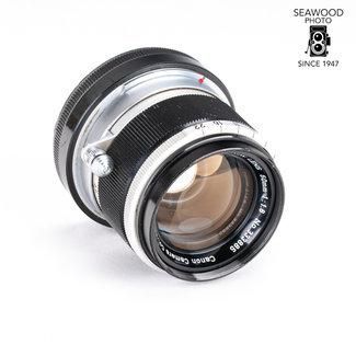 Canon Canon M39 Leica Mt. 50mm f/1.8 w/M Adapter GOOD-