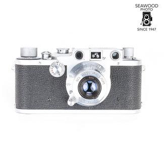 Leica Leica III C with Leitz Elmar 50mm f3.5 Body Near Mint