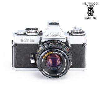 Minolta Minolta XD5 w/50mm f/1.7 Rokkor-X EXCELLENT