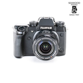 Fuji Fujifilm X-H1 24mp w/18-55 f2.8-4 GOOD+