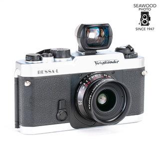Voigtlander Voigtlander Bessa-L w/25mm F4 Snapshot Skopar & Finder Good