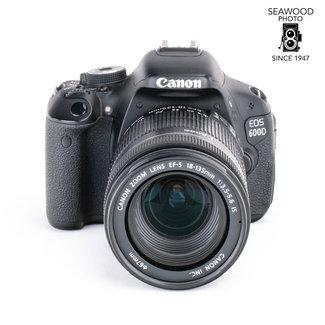 Canon Canon EOS 600D 18.0mp w/EFS 18-135mm IS ( -5200SHOTS) EXCELLENT