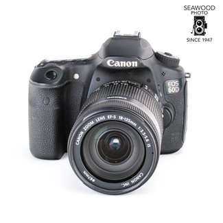 Canon Canon EOS 60D 18mp w/EF 18-135mm f/3.5-5.6 EF-S IS GOOD