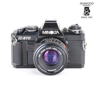 Minolta Minolta X-570 w/MD 50mm f/1.7 GOOD+