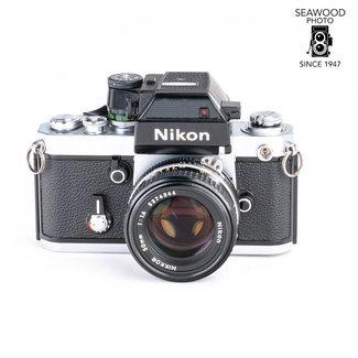 Nikon Nikon F2SB  BODY w/DP-3 LED Meter Head, 50mm f/1.4 GOOD+