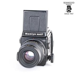Mamiya Mamiya RB67Pro SD w/90mm f/3.5 K/L, WL Finder GOOD+