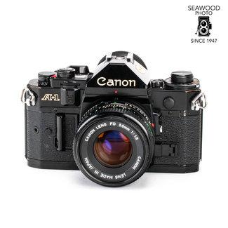 Canon Canon A-1 w/FD 50mm f/1.8 GOOD+