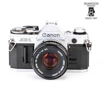 Canon Canon AE-1 w/50mm f/1.8 GOOD+