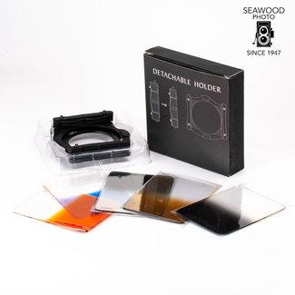 Fotodiox Fotodiox Pro 130mm Filter System Kit: 130mm Filter Holder, 4x 130mm Graduated Filters