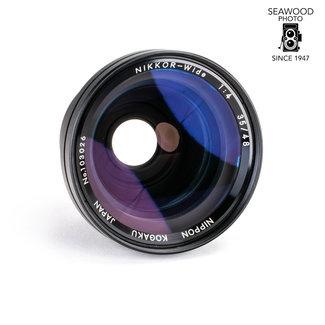 Nikon Nikon Nikkor-Wide 1:4 35/48 Conversion Lens for Nikkorex Auto 35 Like New