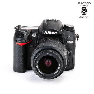 Nikon Nikon D7000 w/18-55 16.2mp Excellent Less than 7,500 Shots