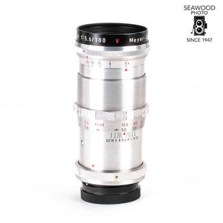 Meyer Meyer-Optik180mm f/5.5 Telemegor for Exakta GOOD