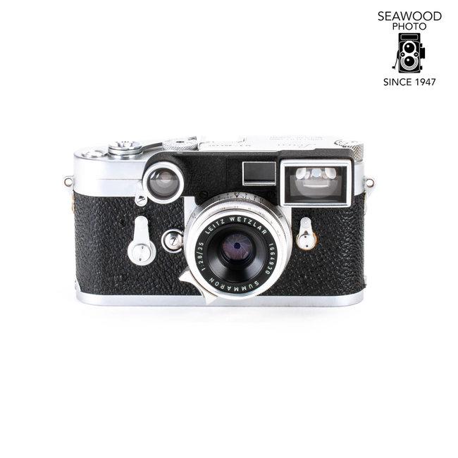 Leica Leica M3 DS with Leitz 35mm f/2.8 Summaron GOOD