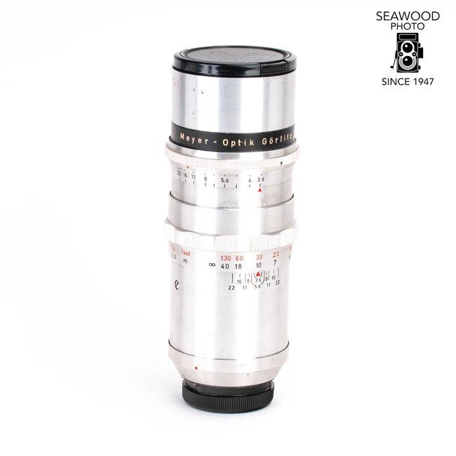 Meyer Meyer-Optic 135mm f/3.5 Primotar in Exakta Mount GOOD-