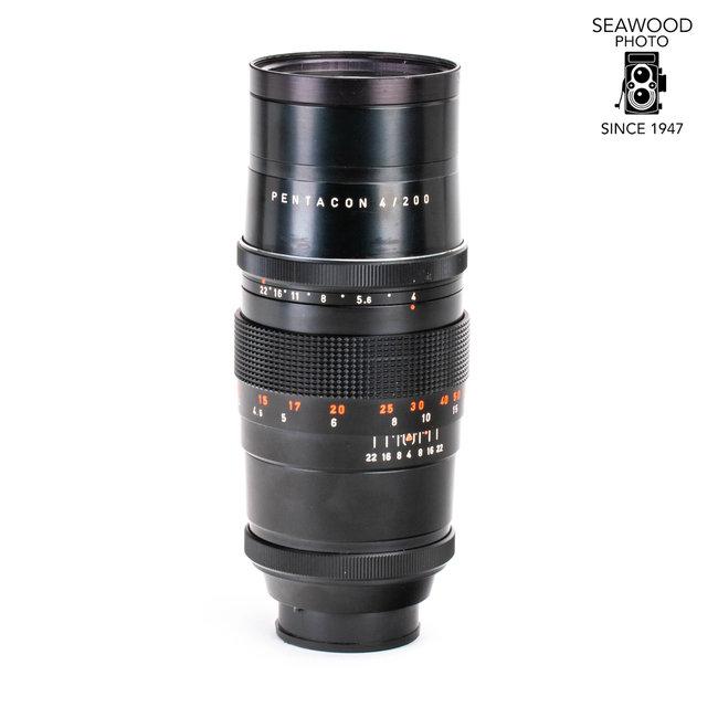 Pentacon 200mm f/4 for Exakta EXCELLENT