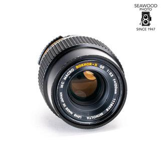 Minolta Minolta 100mm f/3.5 MC Macro Rokkor-X  QE GOOD