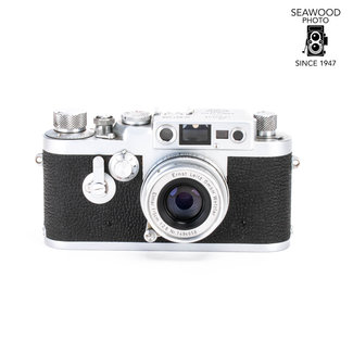 Leica Leica IIIG Rangefinder w/50mm f/2.8 Elmar EXCELLENT