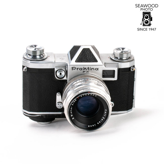 Praktina Praktina FX w/Zeiss 58mm f/2 Biotar GOOD