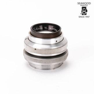 Steinheil 10.5cm Culminar VL Bellows Lens in Exakta Mount GOOD+