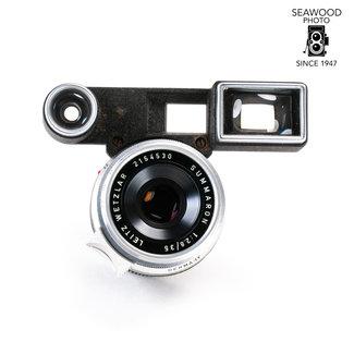 Leica Leica 35mm f/2.8 Summaron-M w/Goggles GOOD