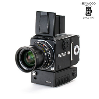 Hasselblad Hasselblad 500 ELX  Black w/60mm f3.5 A12 and WLF GOOD+