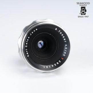 Zeiss Carl Zeiss 40mm f/4.5 Red T Tessar for Exakta EXCELLENT
