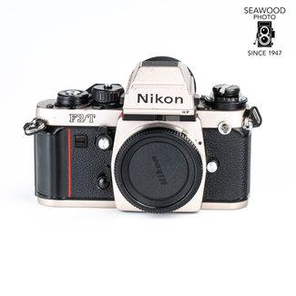Nikon Nikon F3/T HP Body Only Titanium Silver GOOD