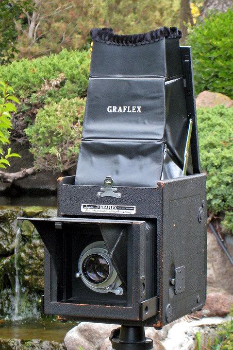 Using the Graflex RB Super D 4x5 SLR