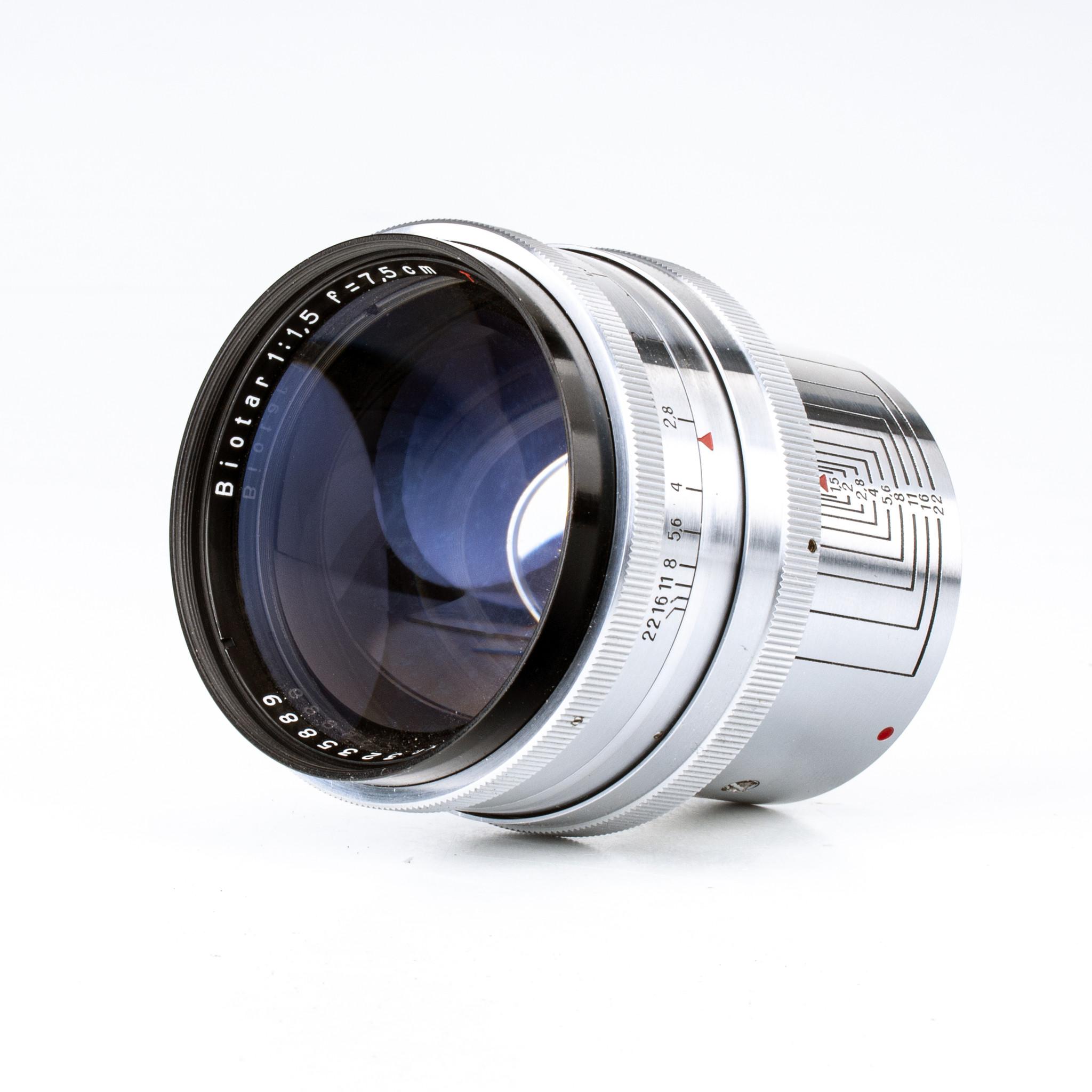 Zeiss Biotar 75mm f/1.5 V2