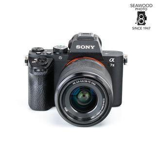 Sony Sony A7II w/28-70mm F3.4-5.6 Less than 5600 shots GOOD