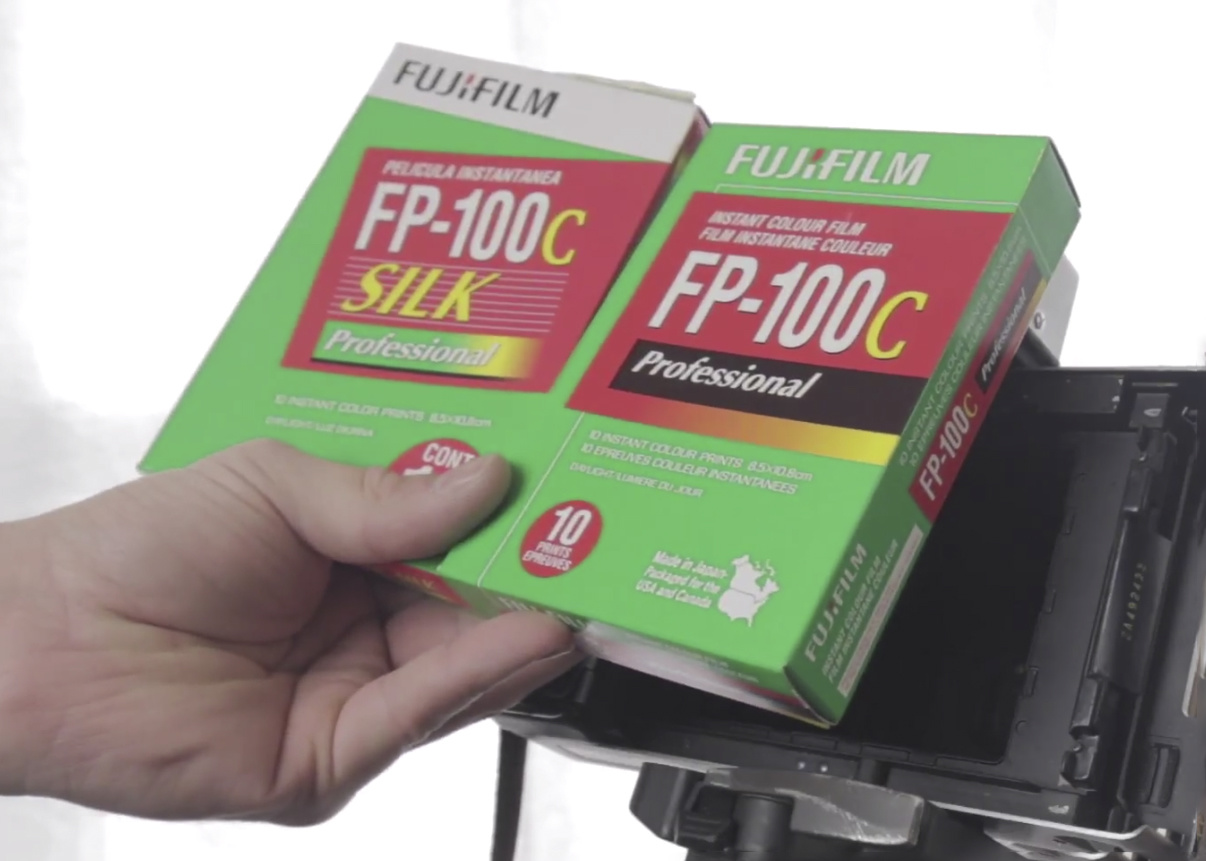 How To Bleach FP-100c Negatives