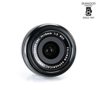 Fuji Fujifilm Fujinon XF 18mm f/2 GOOD