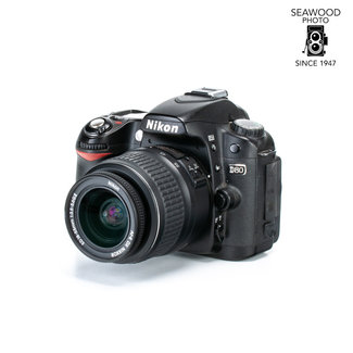 Nikon Nikon D80 Digital SLR 10.2mp w/18-55mm EXCELLENT