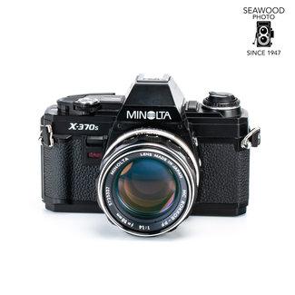Minolta Minolta X-370s w/58mm f/1.4 GOOD+