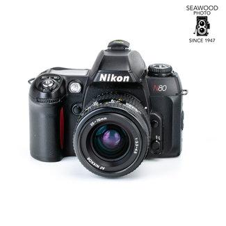 Nikon Nikon N80 Film Camera w/Nikkor 35-70mm f/3.3-4.5 EXCELLENT