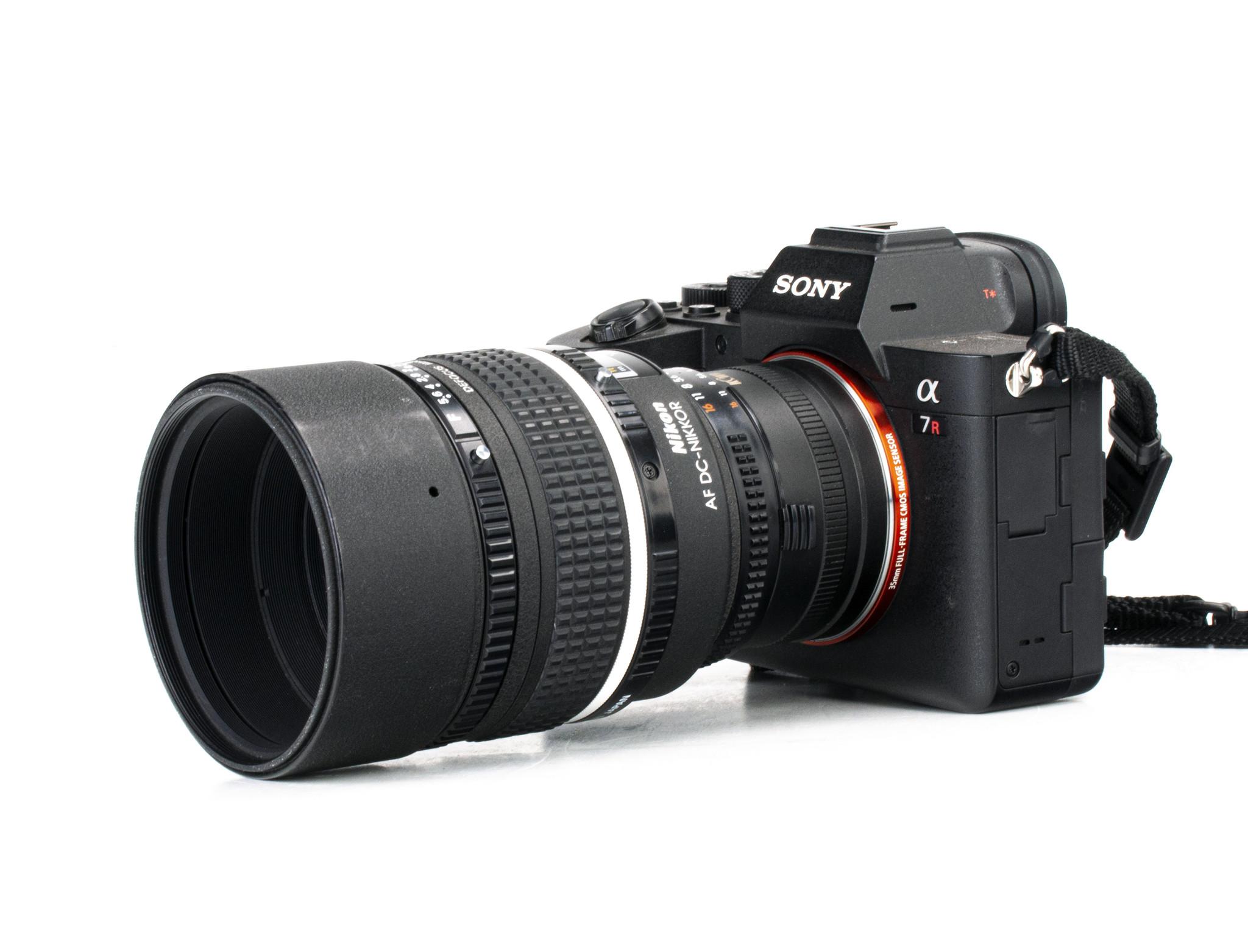 Nikon 105mm f/2d DC Nikkor Lens