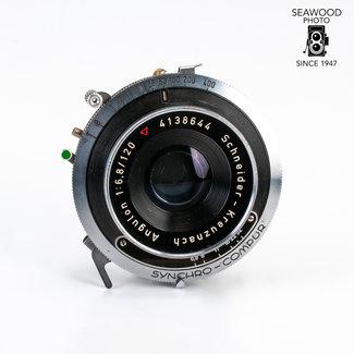 Schneider Schneider 120mm f/6.8 Angulon Lens for 4x5 GOOD+