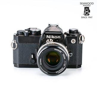 Nikon Nikon FE w/ 50mm f1.8 GOOD