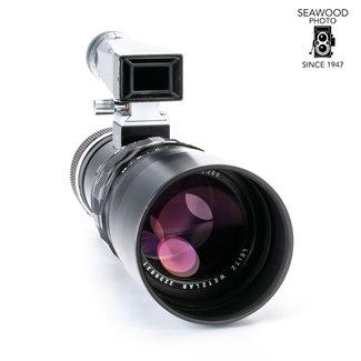 Leica Leica 200mm f/4 Telyt w/Visoflex, M-Mount Adptr, EXCELLENT