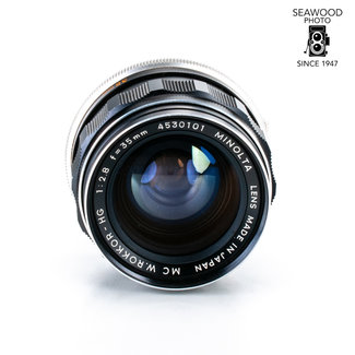 Minolta Minolta MC Rokkor HG 35mm f/2.8 - Good
