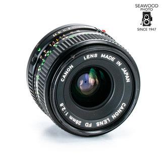 Canon Canon FD 28mm f/2.8 - Good