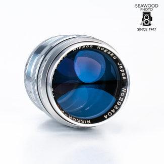 Nikon Nikon 8.5cm (85mm) f/2 Nikkor-P.C for Rangefinder Cameras GOOD
