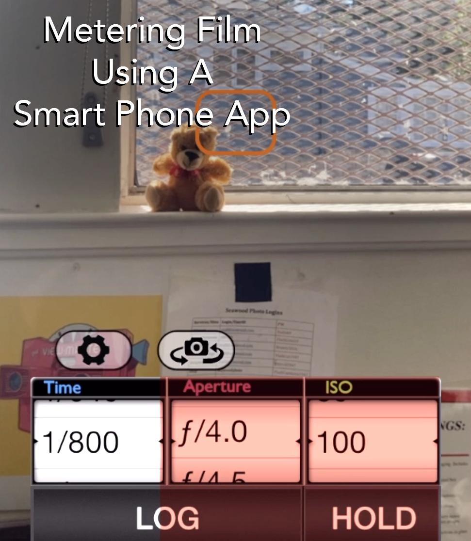 Metering Film Using A Smart Phone App