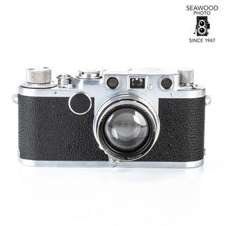 Leica Leica IIf  '51 w/50mm f/2 Summitar GOOD