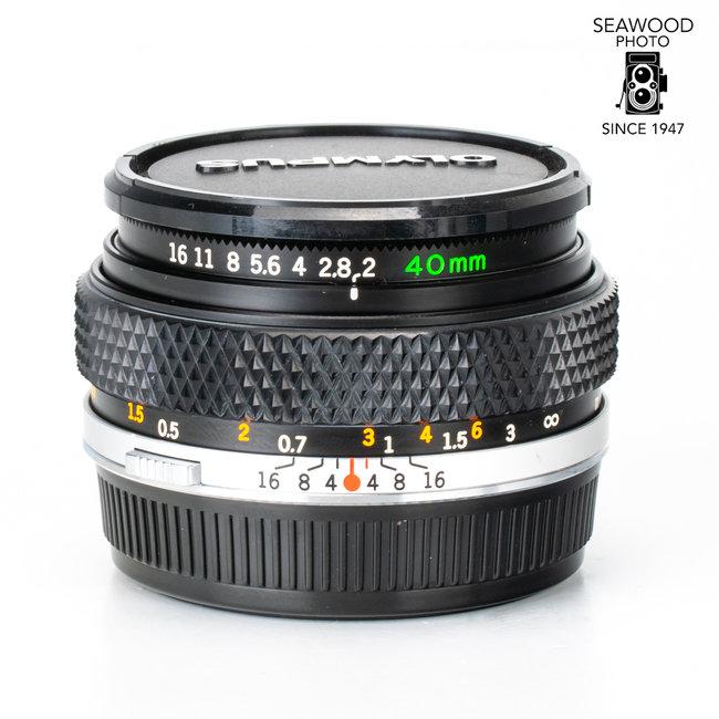 Olympus Rare Olympus 40mm F2 EXCELLENT